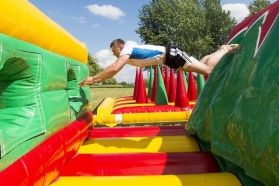 148 Meter Inflatable Obstacle Course
