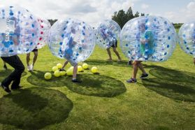 Bubble Soccer, Bubble Bump Football