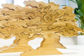 "Wooden puzzle ""Life Tree"""