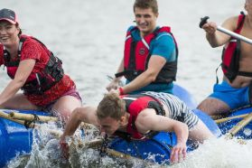 Raft building - perfect for team building