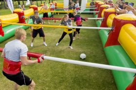 Giant Inflatable Human Table Soccer